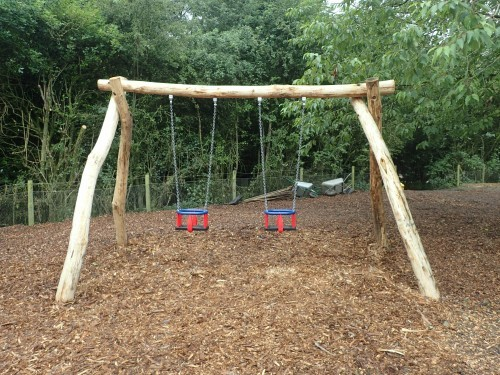 Double Child Seat Swing Fountains Abbey And Studley Foyal Extensive Rustic Outdoor Woodland Play Area By Flights Of Fantasy