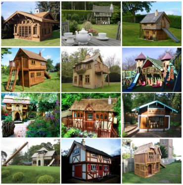 Fantasy Themed Playhouses By Flights Of Fantasy