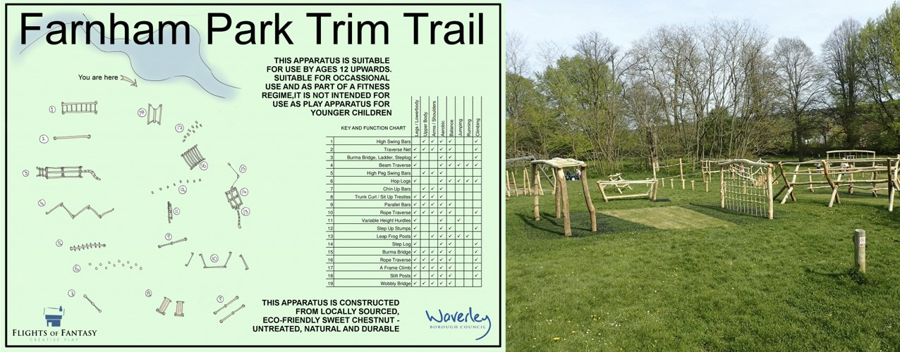 Farnham Park Trim Trail