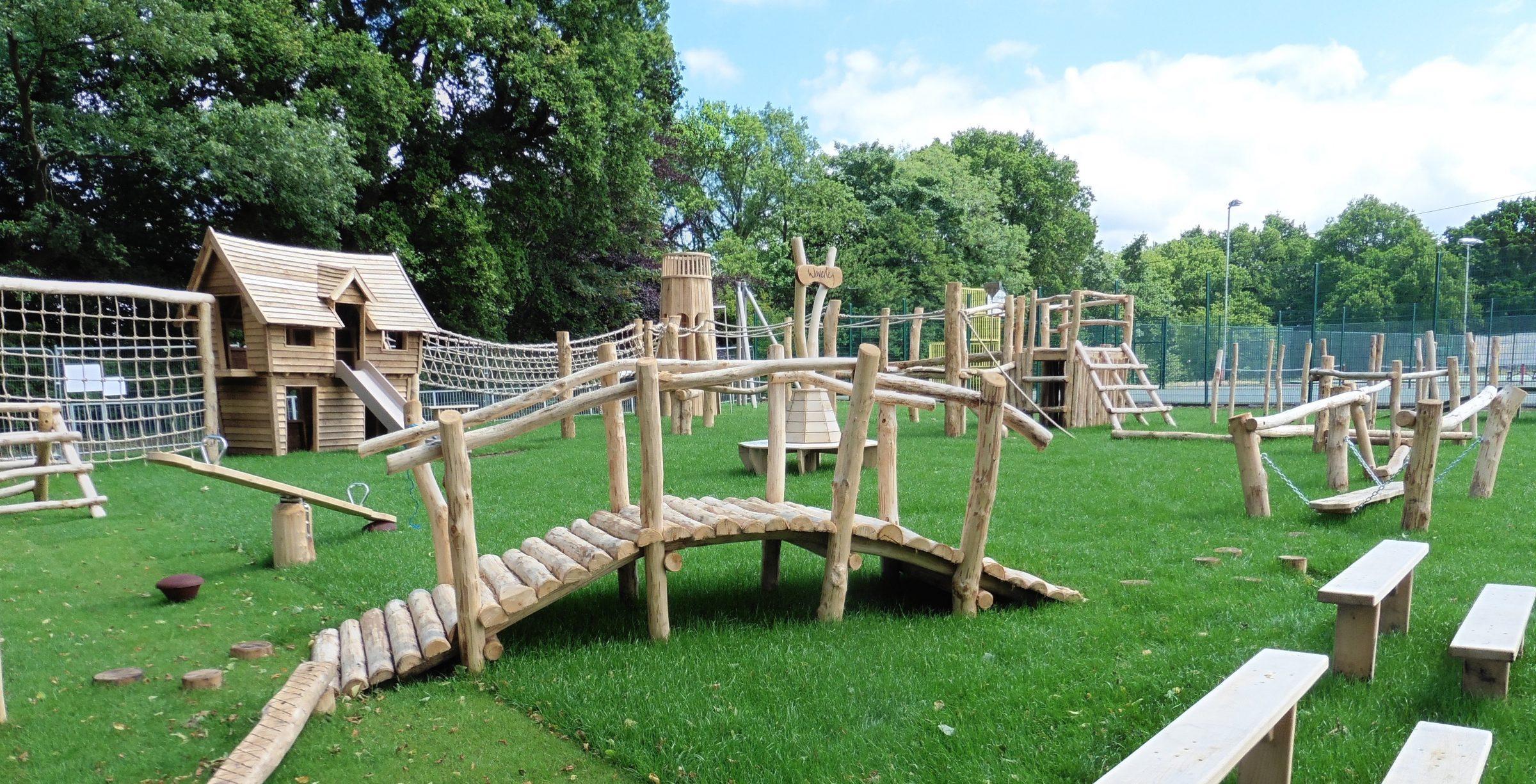Holloway Hill Outdoor Play Area | Flights of Fantasy