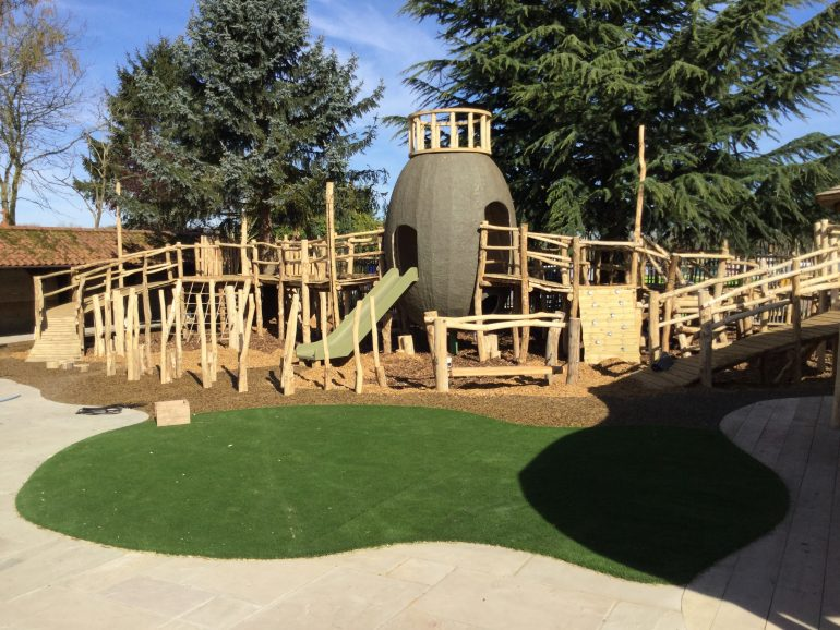 Ffolkes Arms Play Area in Progress 17
