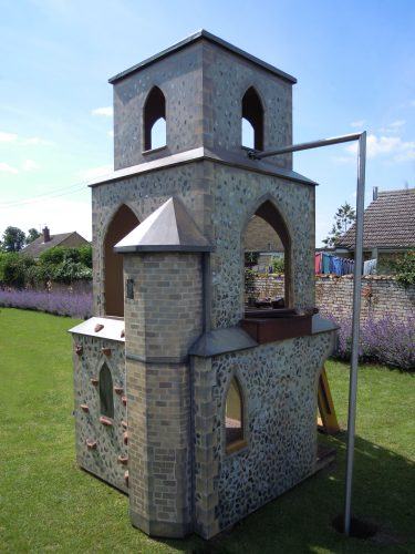 Firemans Pole Barton Bendish Replica Church Childrens Multi Play Tower 1