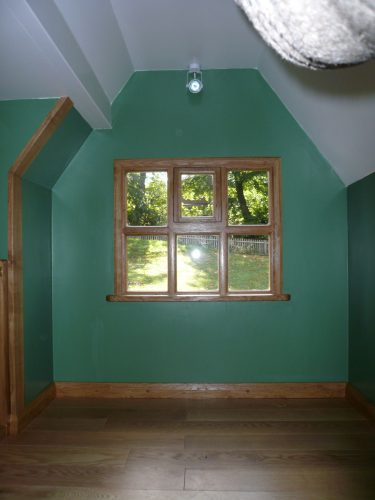 First Floor Interior Little Lodge Childrens Playhouse Wendy House Miniature Replica