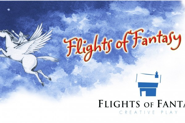 Flights Of Fantasy Old And New Logos