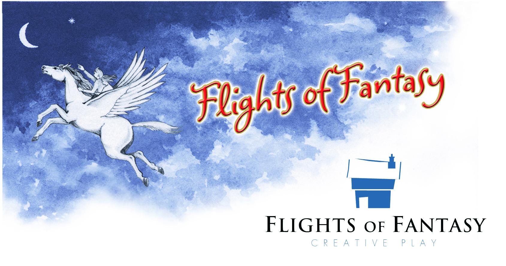 Flights Of Fantasy Old And New Logos