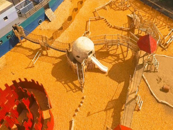 Folly Farm Pirate Playground Aerial View