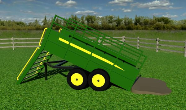 Folly Farm Play Machines Plans Tipping Trailer