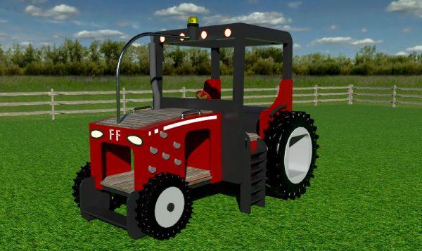 Folly Farm Play Machines Plans Tractor
