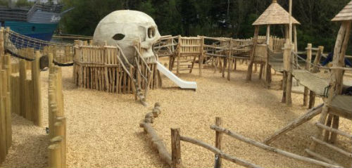 Folly Farm Rustic Playground