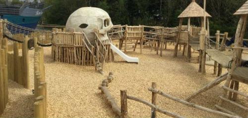 Folly Farm Rustic Playground