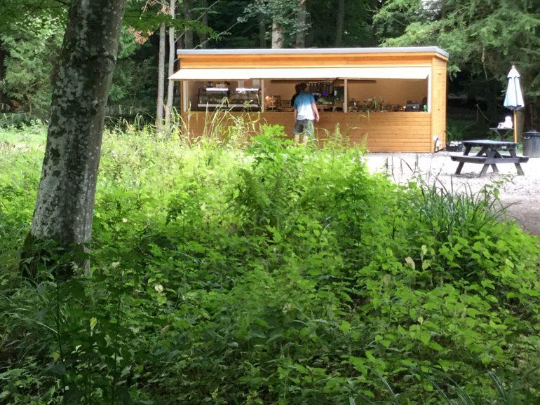 Forest View Wallington Hall Food Hut