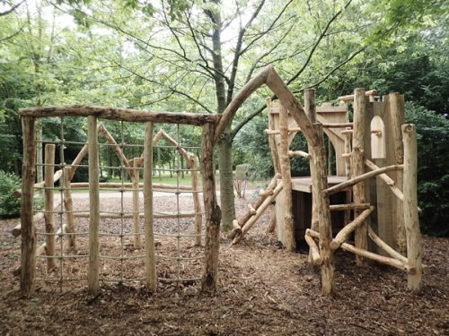 Fountains Abbey Adventure Woodland Play Area