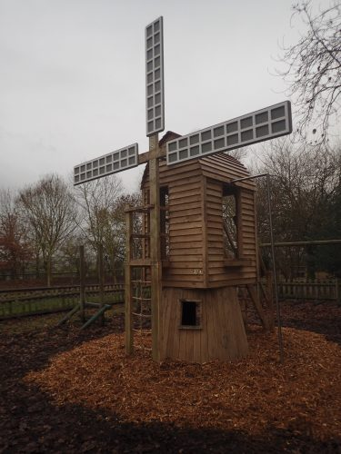 Front Left Avoncroft Museum Of Historic Buildings Play Windmill And Boardwalk E1484822697176