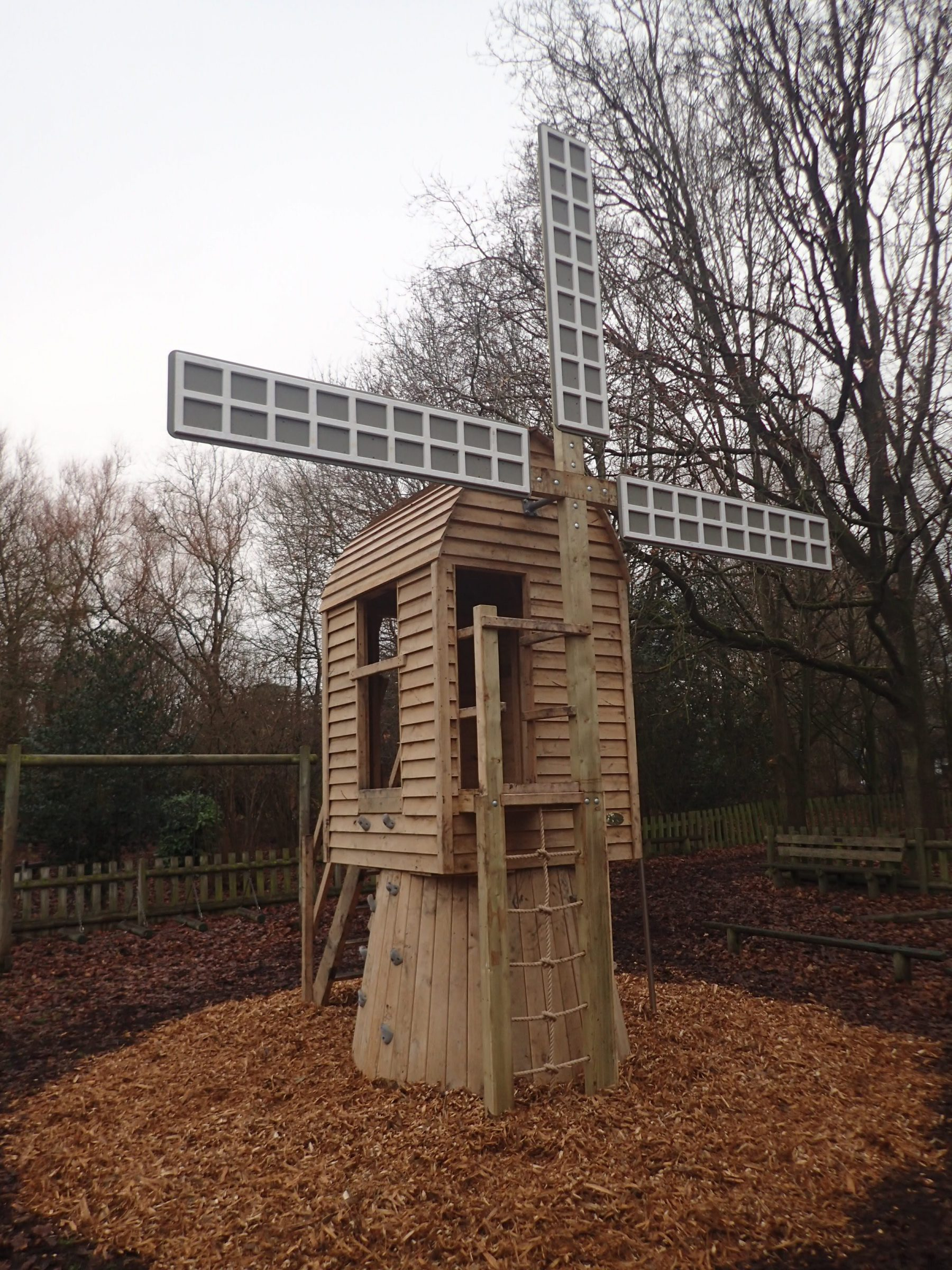A Brand New Play Windmill And A Boardwalk For Avoncroft Museum