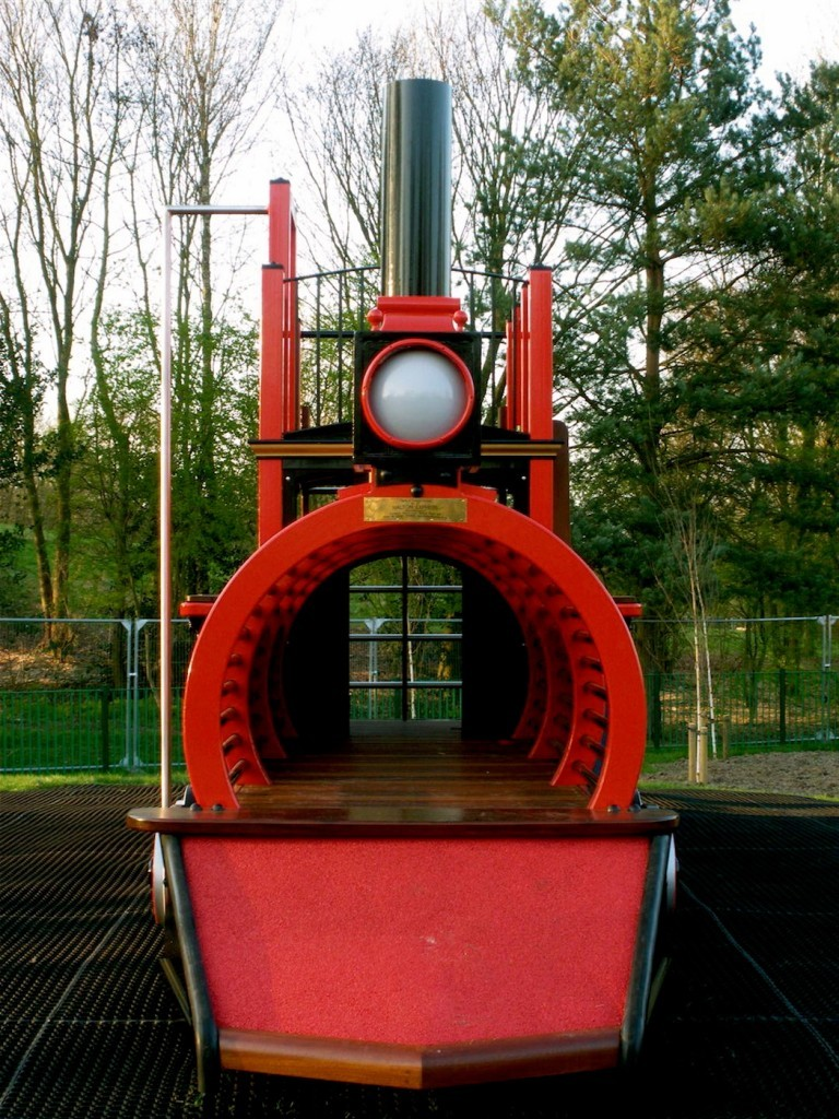 Front (Runcorn Play Train Centrepiece Outdoor Play Area)