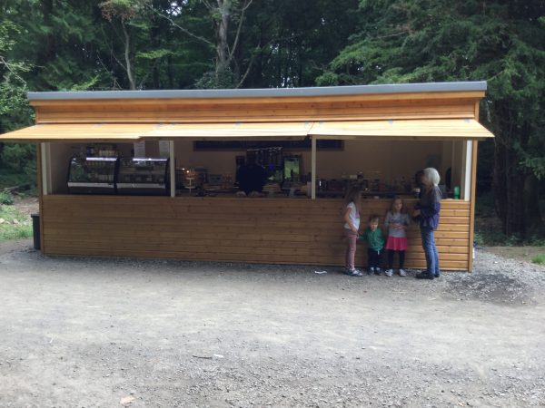 Front View – Wallington Hall Food Hut