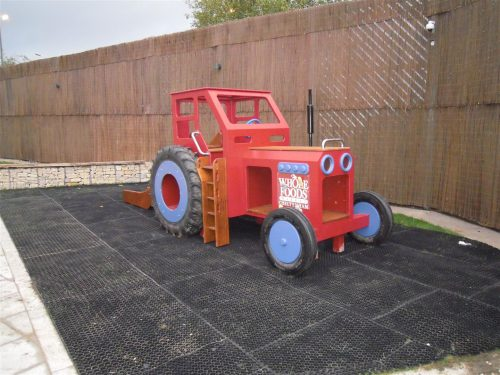 Front Whole Food Cheltenham Red Play Tractor