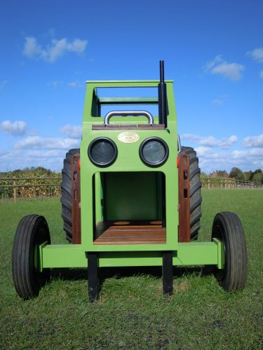 Front end (Hatfield farm children's play tractor with slide)