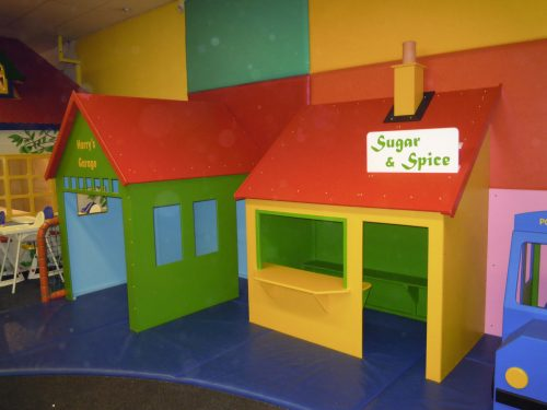 Garage And Shop Cheeky Monkey Nursery Indoor Childrens Play Area 1