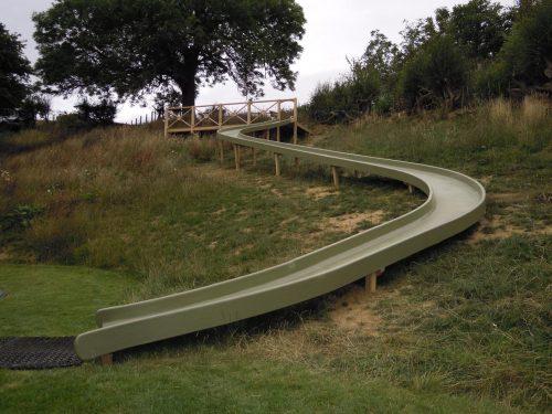 Giant Curved Slide