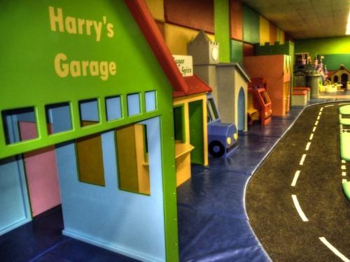 Harry's Garage Indoor Play Area