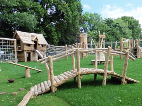 Holloway Hill Rustic Themed Adventure Play Area