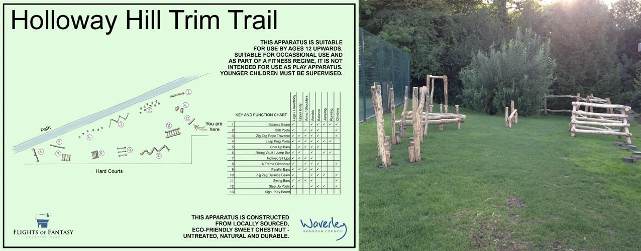 Holloway Hill Trim Trail