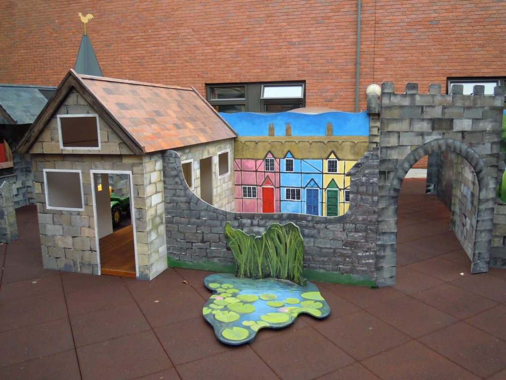 Houses Gloucestershire Royal Hospital Rooftop Play Area