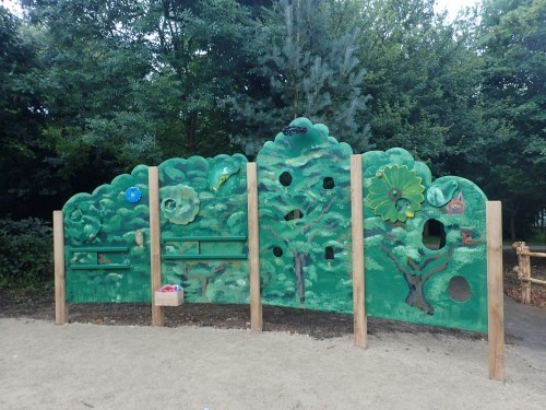 Interactive Board Fountains Abbey And Studley Foyal Extensive Rustic Outdoor Woodland Play Area By Flights Of Fantasy