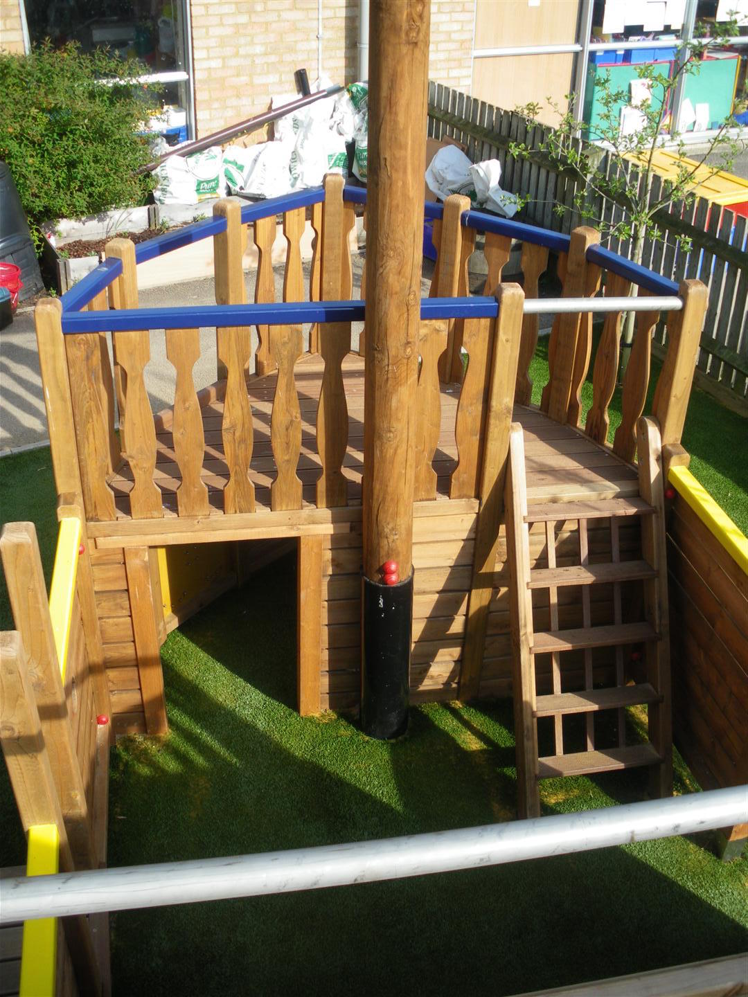 highnam under fives pirate ship play area flights of fantasy