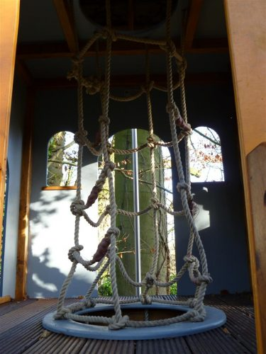 Interior Cargo Net Winchester Tower Private Play Area Playground By Flights Of Fantasy
