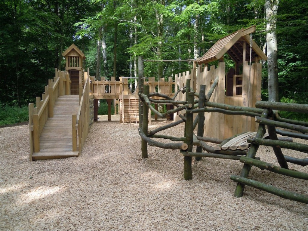 a new forest outdoor play area flights of fantasy