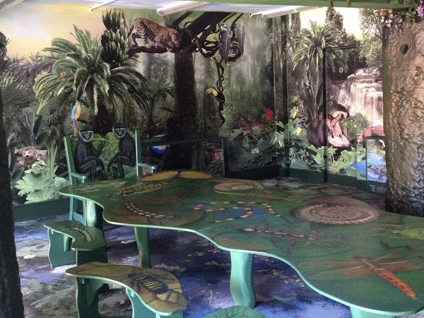 Jungle Party Room And Themed Seating At Bristol Zoo