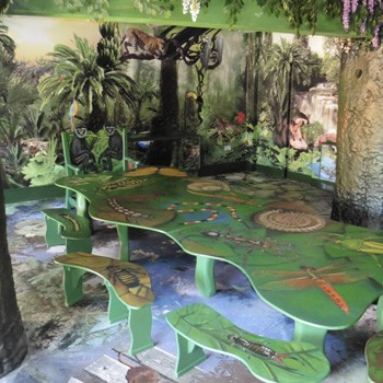 Jungle Themed Meeting Room At Bristol Zoo By Flights Of Fantasy