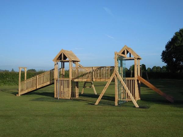 Multi Play Towers & Wooden Climbing Frames | Flights of Fantasy