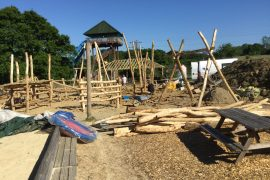 Knockhatch Adventure Park Play Area Work In Progress 01