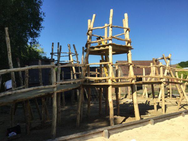 Knockhatch Adventure Park Play Area Work In Progress 02