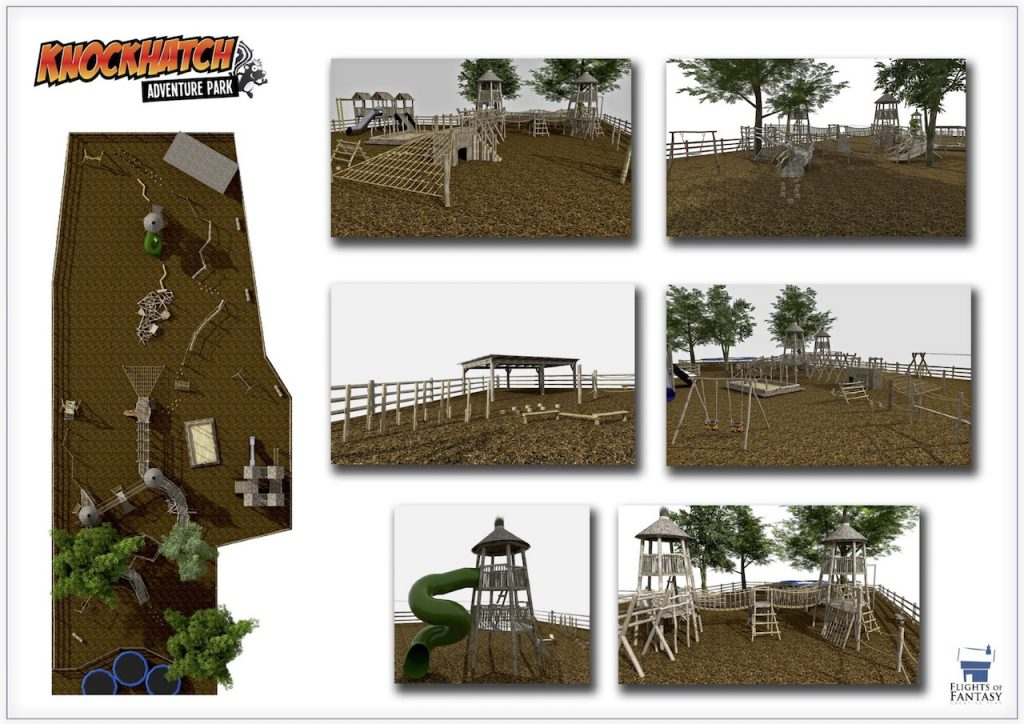 Knockhatch Play Area Plans