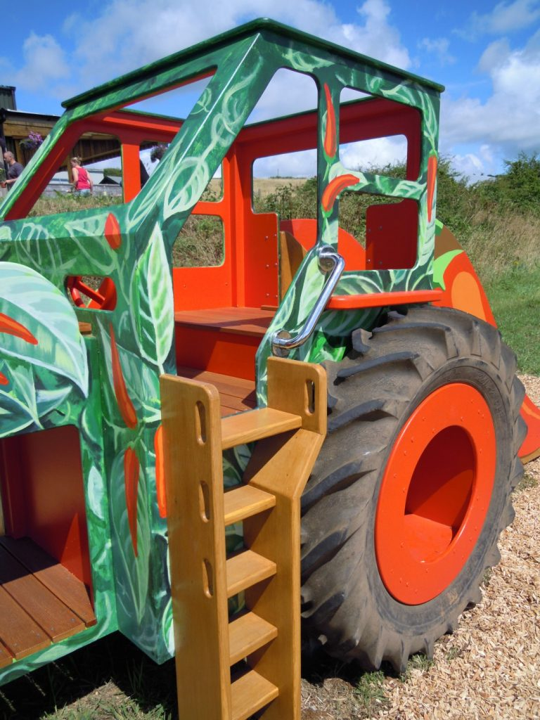 Ladder South Devon Chilli Farm Hand Made Play Tractor