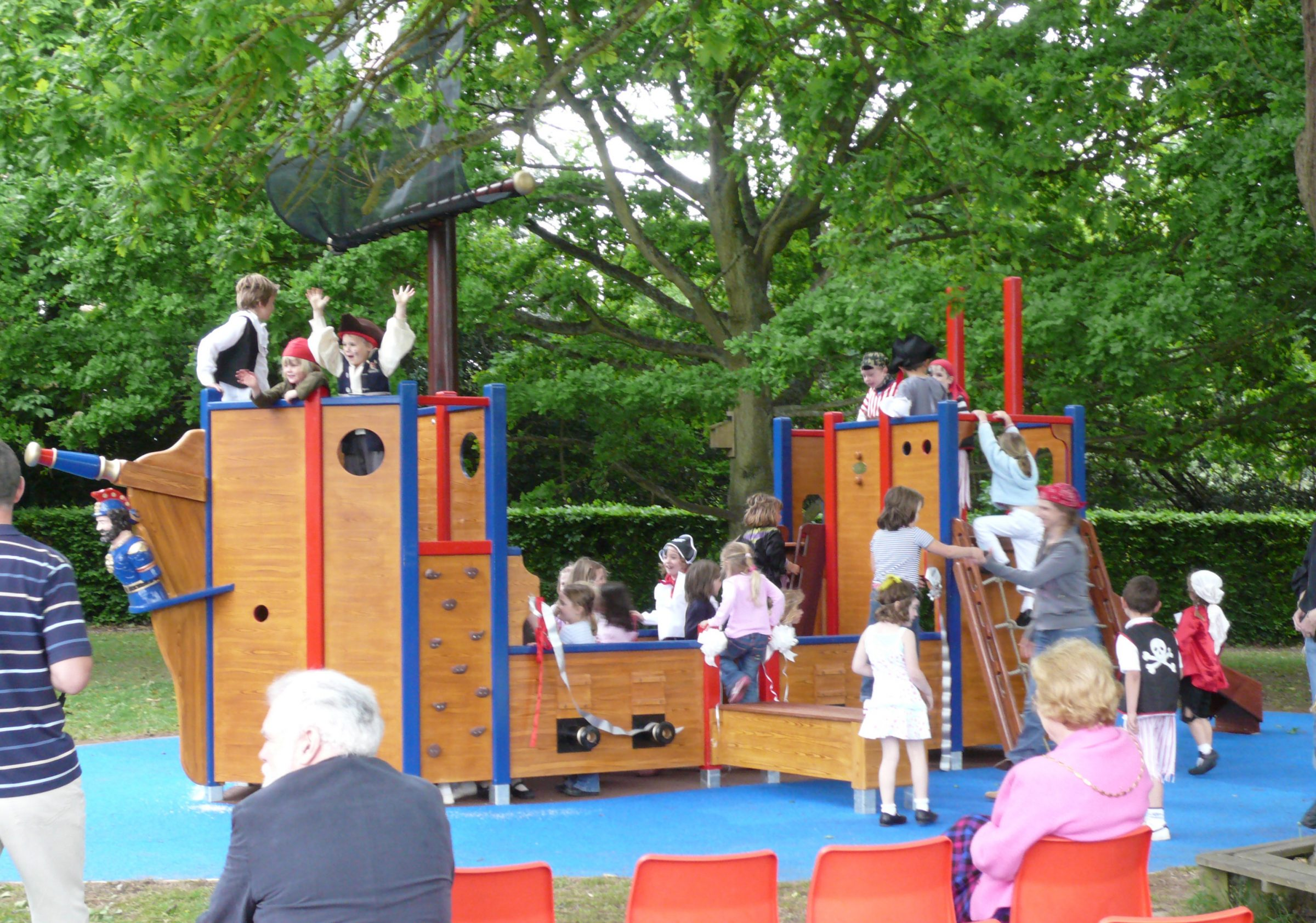 Langton green pirate ship playground flights of fantasy - Pirate ship wooden playground ...