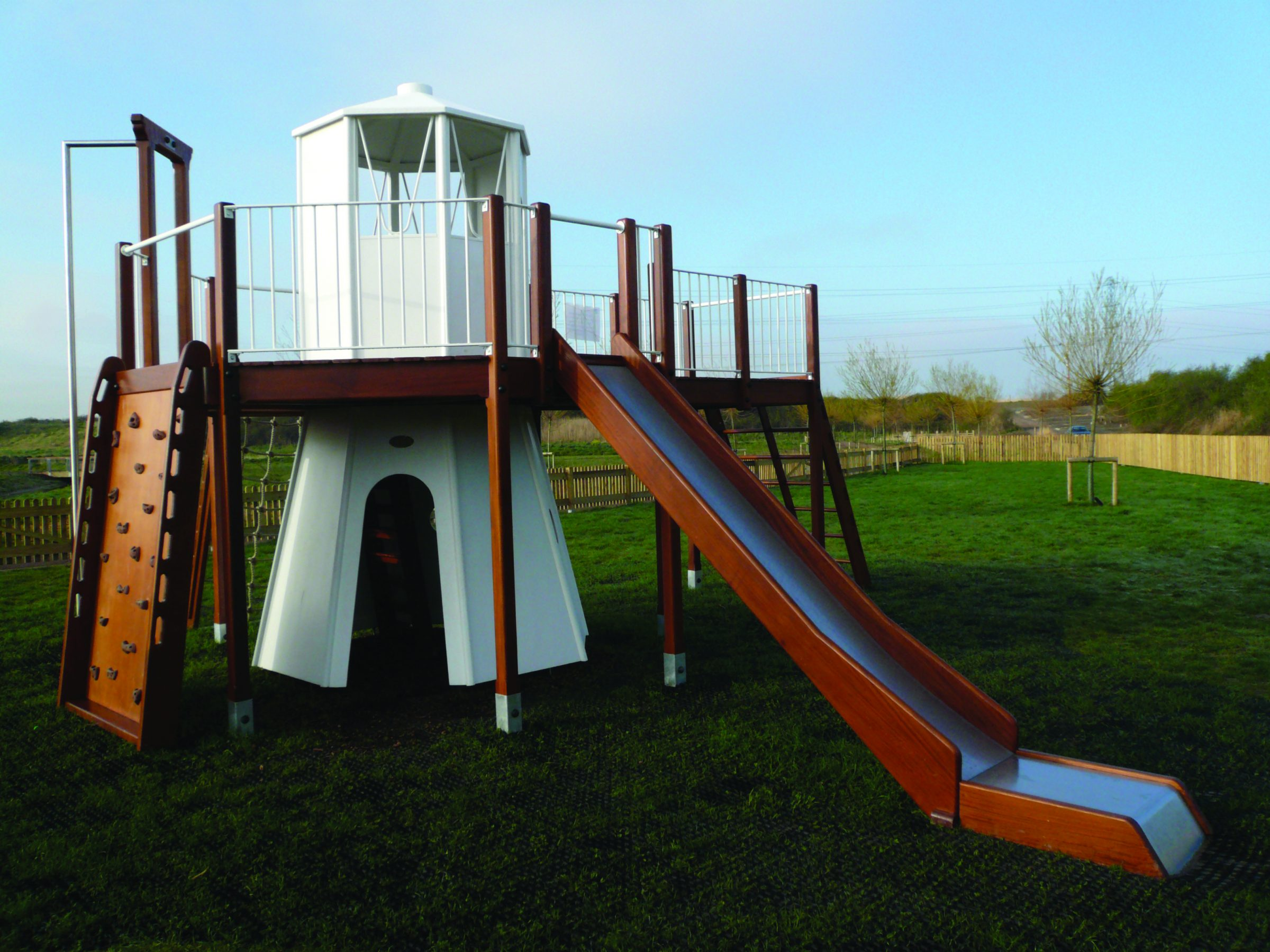 RSPB Newport Replica Lighthouse and Play Area