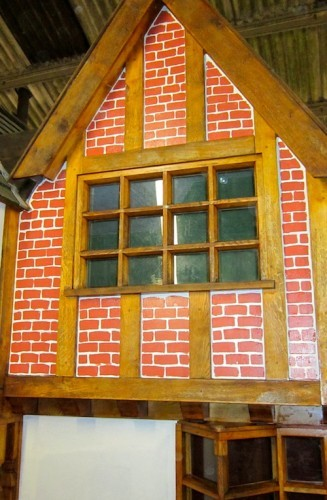 Little Lodge Wendy House Move New Front Detailing
