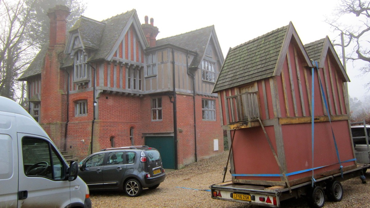 Little Lodge Wendy House Move With Original