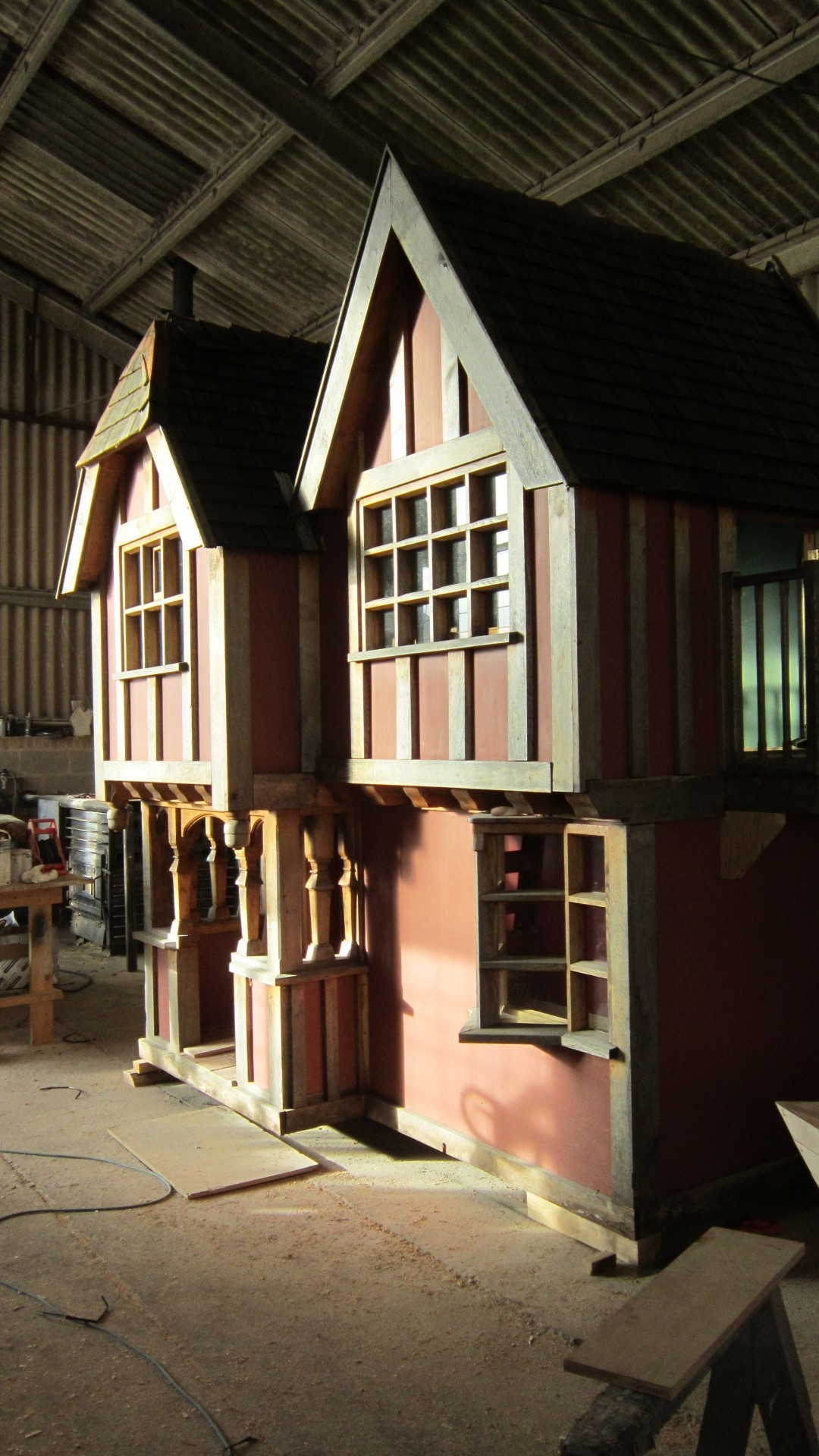 Little Lodge Wendy House Move In Workshop
