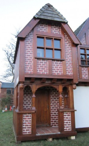 Little Lodge Playhouse Wendy House Revamped Front Close