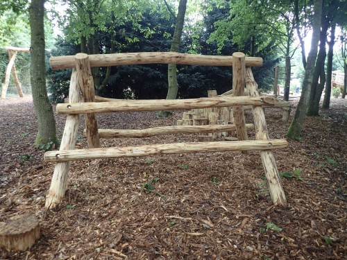 Log Climb Fountains Abbey And Studley Foyal Extensive Rustic Outdoor Woodland Play Area By Flights Of Fantasy
