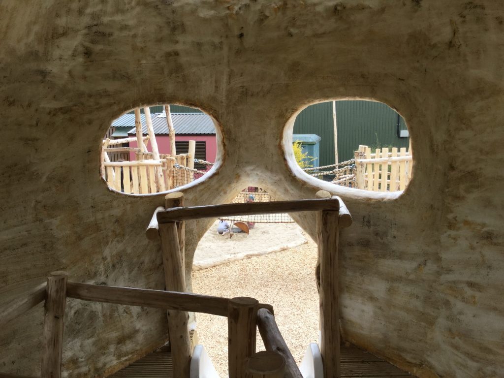 Looking Out Of Skull Folly Farm Pirate Play Area Playground
