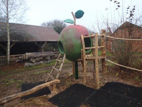 Main Avoncroft Museum Apple Play Area Outdoor Playground