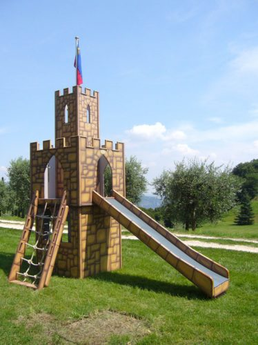 Main View Astrids Tower Childrens Play Castle