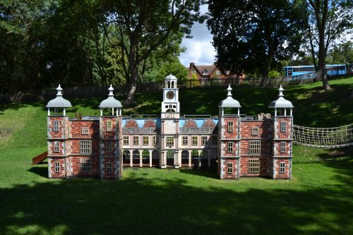 Main View (Hatfield House National Trust children's outdoor wooden play area replica by Flights of Fantasy)
